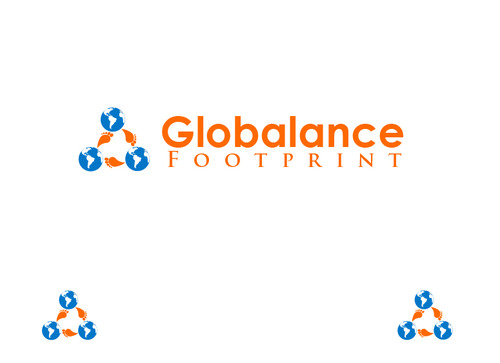 Globalance Footprint A Logo, Monogram, or Icon  Draft # 52 by liryckane