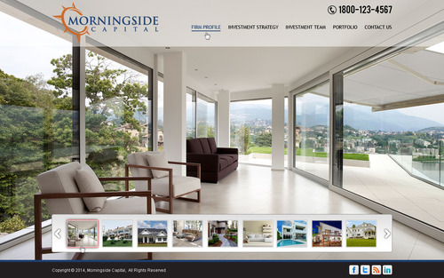 Morningside Capital - Website Complete Web Design Solution  Draft # 1 by mycrodesigns