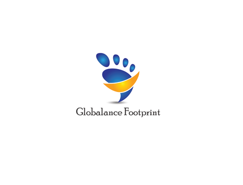Globalance Footprint Logo Winning Design by PTGroup