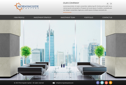 Morningside Capital - Website Complete Web Design Solution  Draft # 40 by SteveJobs