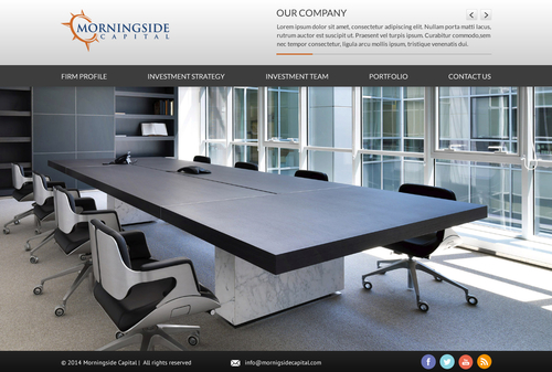 Morningside Capital - Website Complete Web Design Solution  Draft # 41 by SteveJobs