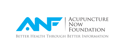 "The wording ""Acupuncture Now Foundation"" and letters ""ANF"""