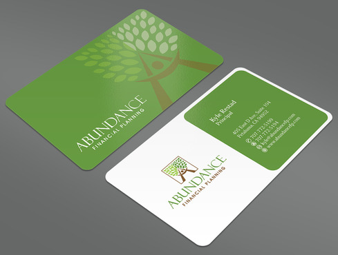 Abundance Financial Planning Business Cards and Stationery  Draft # 14 by ArtworksKingdom