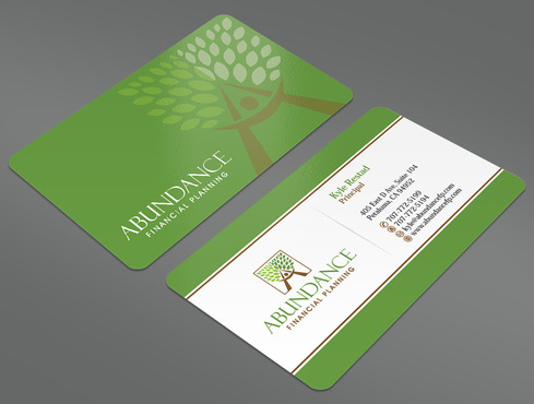 Abundance Financial Planning Business Cards and Stationery  Draft # 18 by ArtworksKingdom