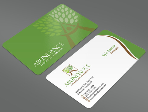 Abundance Financial Planning Business Cards and Stationery  Draft # 21 by ArtworksKingdom