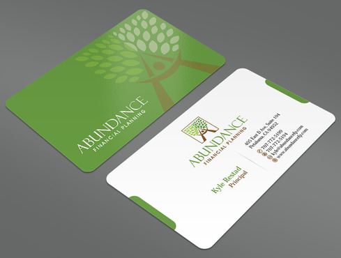 Abundance Financial Planning Business Cards and Stationery  Draft # 22 by ArtworksKingdom