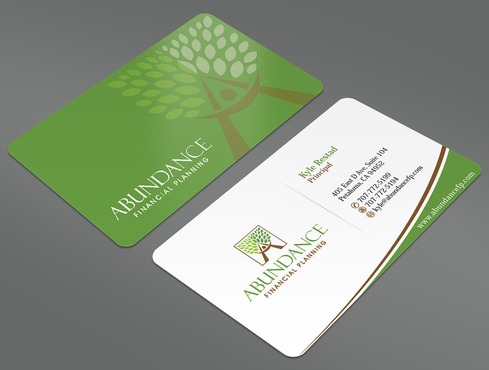 Abundance Financial Planning Business Cards and Stationery  Draft # 23 by ArtworksKingdom