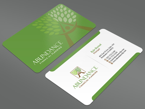 Abundance Financial Planning Business Cards and Stationery  Draft # 26 by ArtworksKingdom