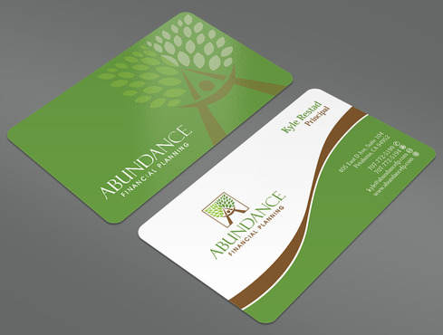 Abundance Financial Planning Business Cards and Stationery  Draft # 25 by ArtworksKingdom