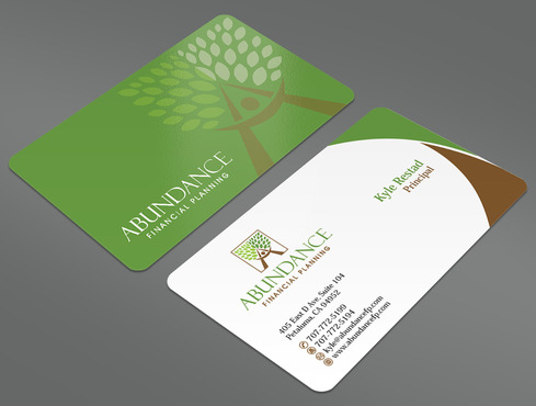 Abundance Financial Planning Business Cards and Stationery  Draft # 27 by ArtworksKingdom