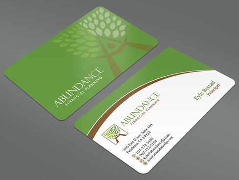 Abundance Financial Planning Business Cards and Stationery  Draft # 28 by ArtworksKingdom