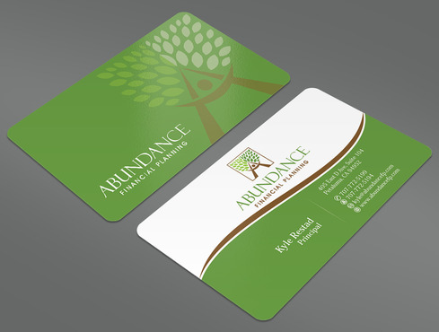 Abundance Financial Planning Business Cards and Stationery  Draft # 29 by ArtworksKingdom