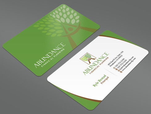 Abundance Financial Planning Business Cards and Stationery  Draft # 31 by ArtworksKingdom