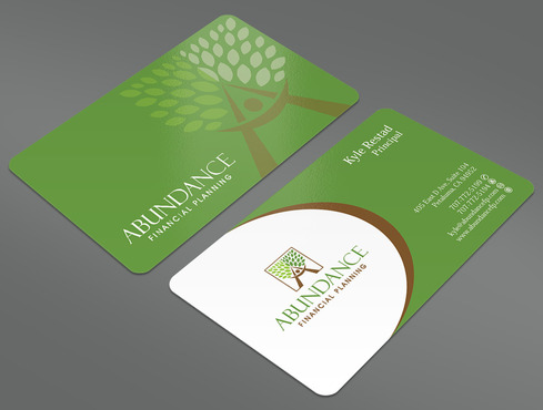 Abundance Financial Planning Business Cards and Stationery  Draft # 32 by ArtworksKingdom