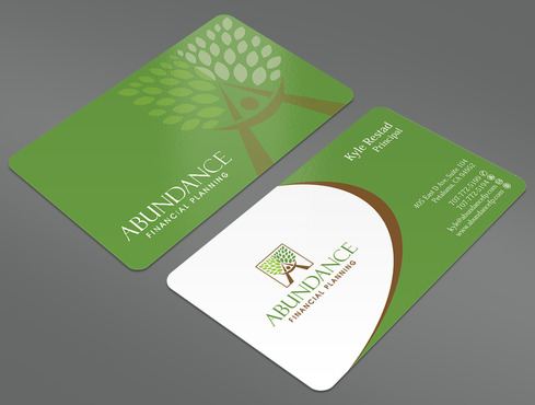 Abundance Financial Planning Business Cards and Stationery  Draft # 33 by ArtworksKingdom