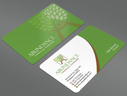 Abundance Financial Planning Business Cards and Stationery  Draft # 39 by ArtworksKingdom