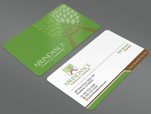Abundance Financial Planning Business Cards and Stationery  Draft # 42 by ArtworksKingdom