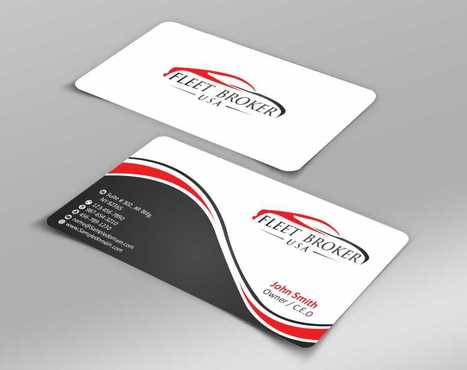 needs to stand out, but be very clean Business Cards and Stationery  Draft # 61 by Dawson