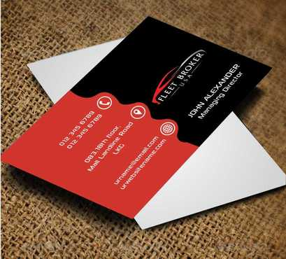 needs to stand out, but be very clean Business Cards and Stationery  Draft # 146 by Dawson