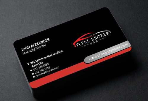 needs to stand out, but be very clean Business Cards and Stationery  Draft # 147 by Dawson