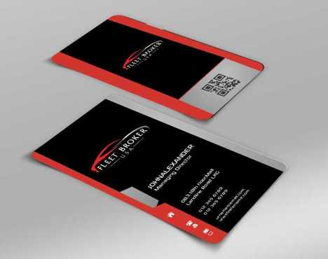 needs to stand out, but be very clean Business Cards and Stationery  Draft # 151 by Dawson