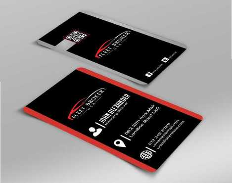 needs to stand out, but be very clean Business Cards and Stationery  Draft # 153 by Dawson