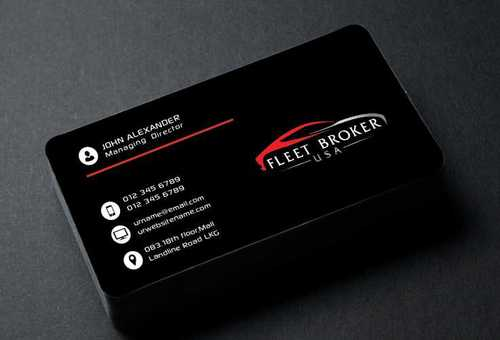 needs to stand out, but be very clean Business Cards and Stationery  Draft # 154 by Dawson