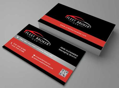 needs to stand out, but be very clean Business Cards and Stationery  Draft # 157 by Dawson