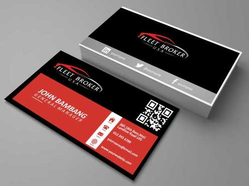 needs to stand out, but be very clean Business Cards and Stationery  Draft # 171 by Dawson
