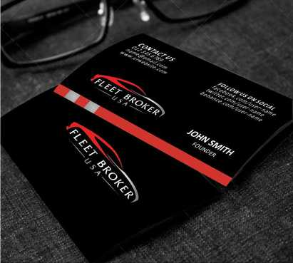 needs to stand out, but be very clean Business Cards and Stationery  Draft # 172 by Dawson