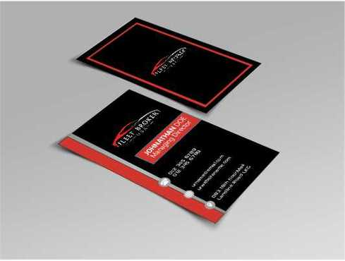 needs to stand out, but be very clean Business Cards and Stationery  Draft # 174 by Dawson