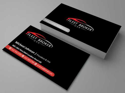 needs to stand out, but be very clean Business Cards and Stationery  Draft # 176 by Dawson
