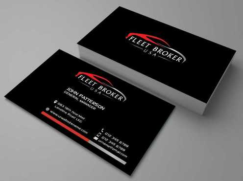needs to stand out, but be very clean Business Cards and Stationery  Draft # 178 by Dawson
