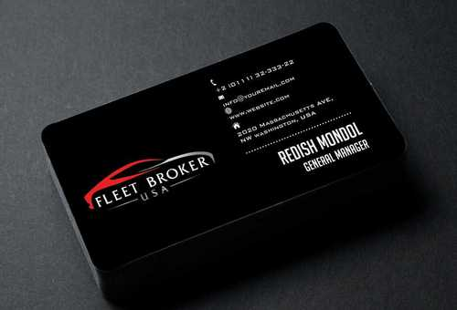 needs to stand out, but be very clean Business Cards and Stationery  Draft # 179 by Dawson