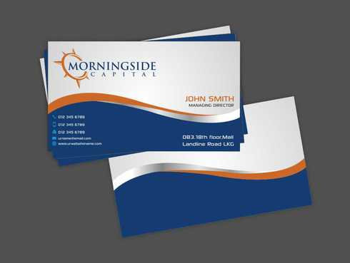 Morningside Capital Business Cards Business Cards and Stationery  Draft # 204 by Dawson