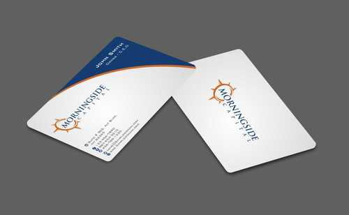 Morningside Capital Business Cards Business Cards and Stationery  Draft # 209 by Dawson