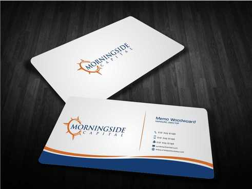 Morningside Capital Business Cards Business Cards and Stationery  Draft # 213 by Dawson