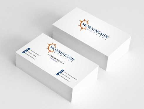 Morningside Capital Business Cards Business Cards and Stationery  Draft # 223 by Dawson