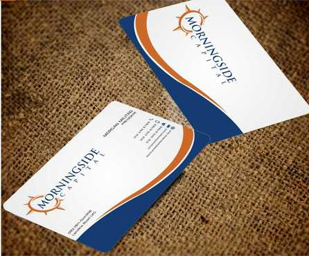Morningside Capital Business Cards Business Cards and Stationery  Draft # 224 by Dawson