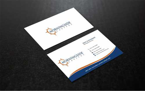 Morningside Capital Business Cards Business Cards and Stationery  Draft # 226 by Dawson