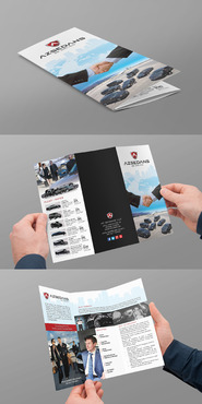 AZ SEDANS BROCHURES Marketing collateral Winning Design by jameelbukhari