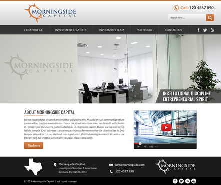 Morningside Capital - Website Complete Web Design Solution  Draft # 138 by SteveJobs
