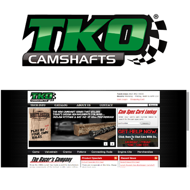 TKO Camshafts A Logo, Monogram, or Icon  Draft # 89 by RPMBdesign
