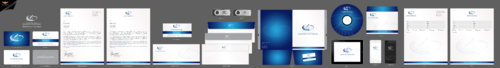 Business Cards, Stationery and Folder