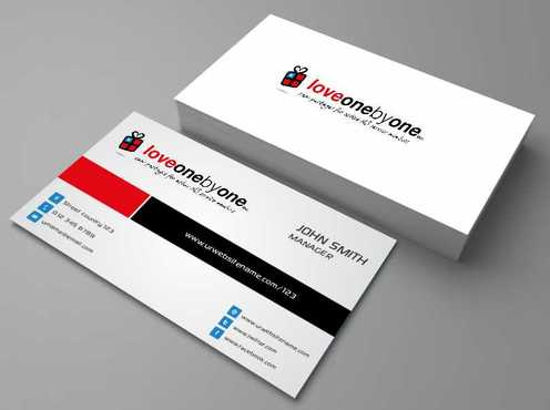 LOVE1X1.ORG Business Cards and Stationery  Draft # 142 by Dawson