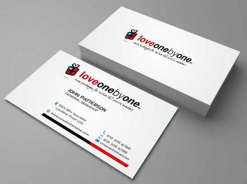 LOVE1X1.ORG Business Cards and Stationery  Draft # 148 by Dawson
