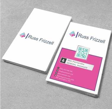 Russ Frizzell Business Cards and Stationery  Draft # 119 by Dawson