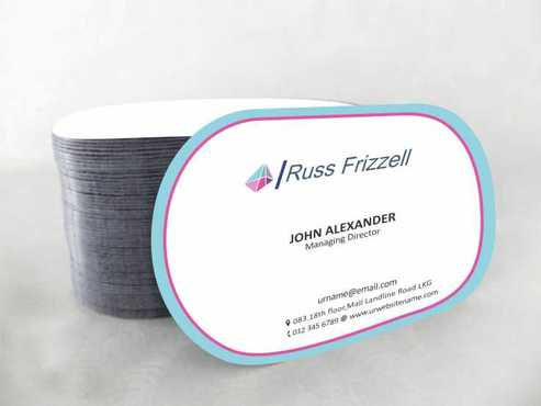 Russ Frizzell Business Cards and Stationery  Draft # 120 by Dawson