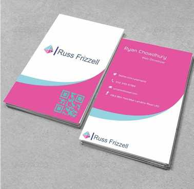 Russ Frizzell Business Cards and Stationery  Draft # 121 by Dawson
