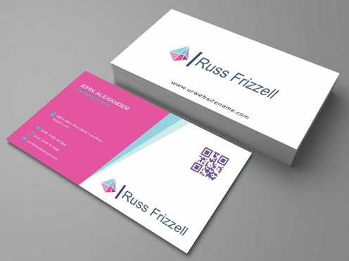 Russ Frizzell Business Cards and Stationery  Draft # 123 by Dawson